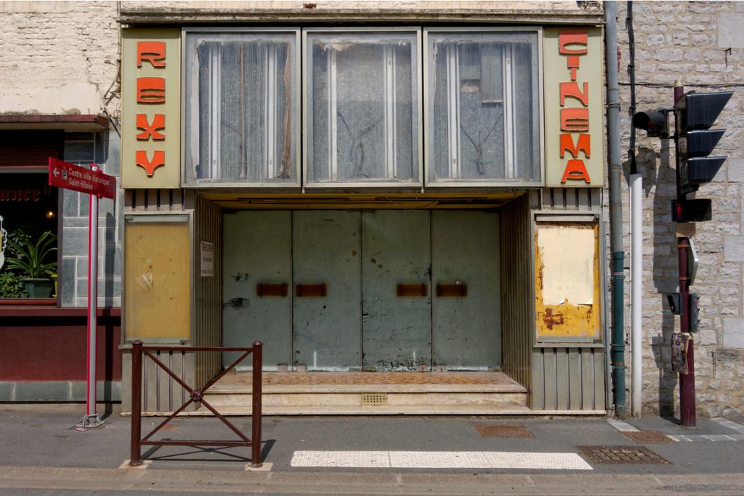 Stephane G, Photo of an old cinema.