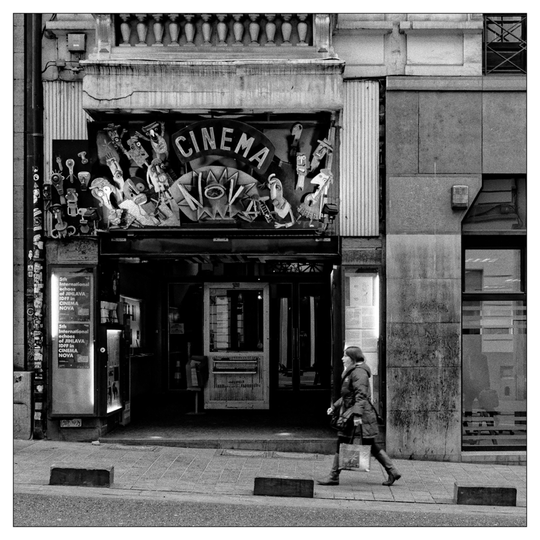 Jean Marie Lison. Photo of an old cinema.