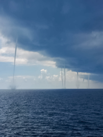 Waterspouts over the Gulf of Mexico 2020