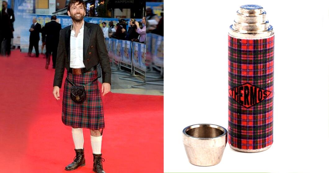 David Tennant as Thermos Flasks