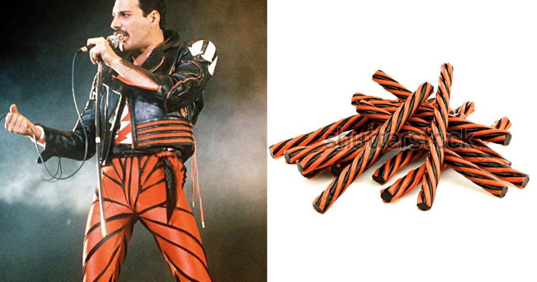 Freddy Mercury as Classic Sweets