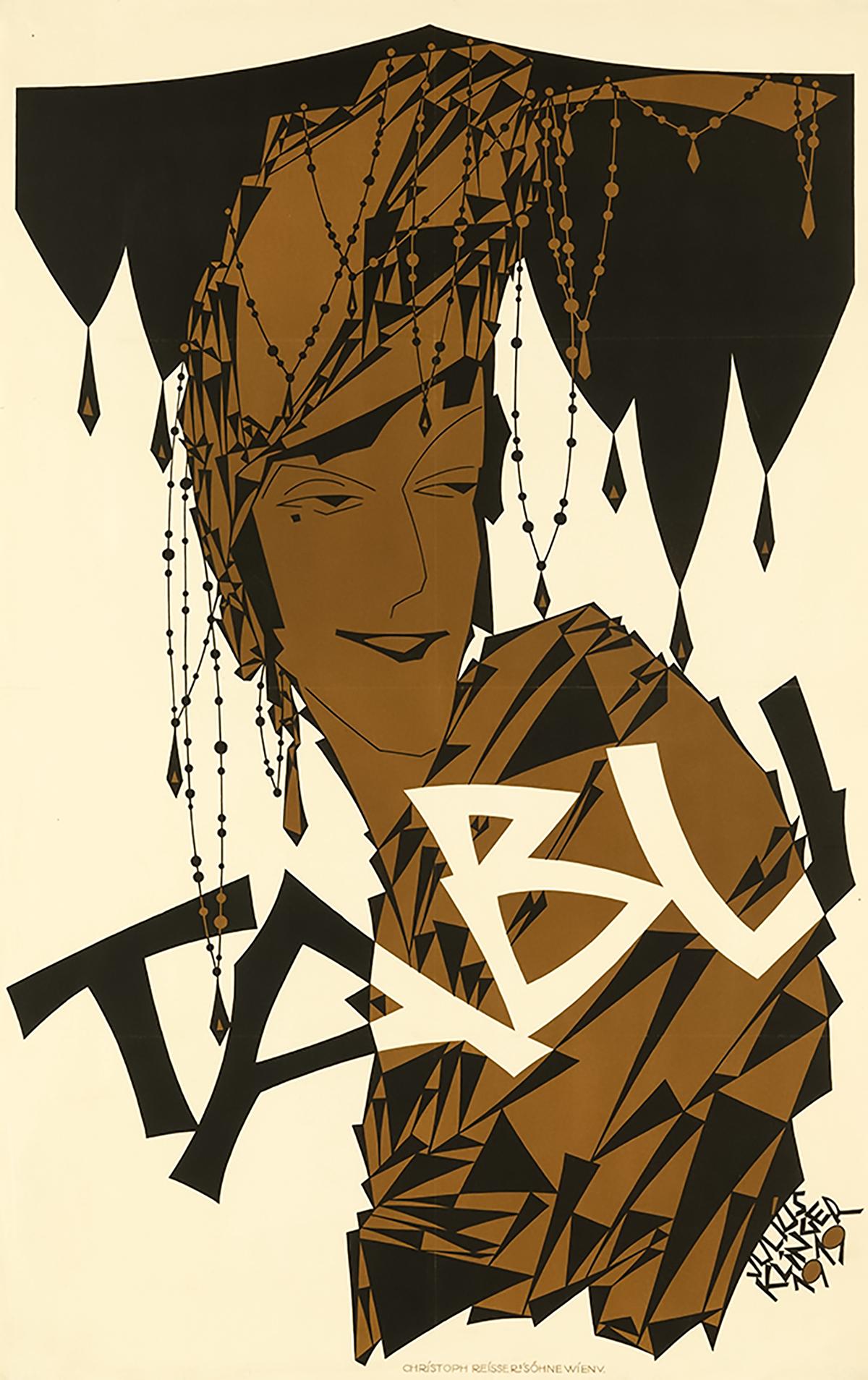 Julius Klinger for Tabu 1919. #3