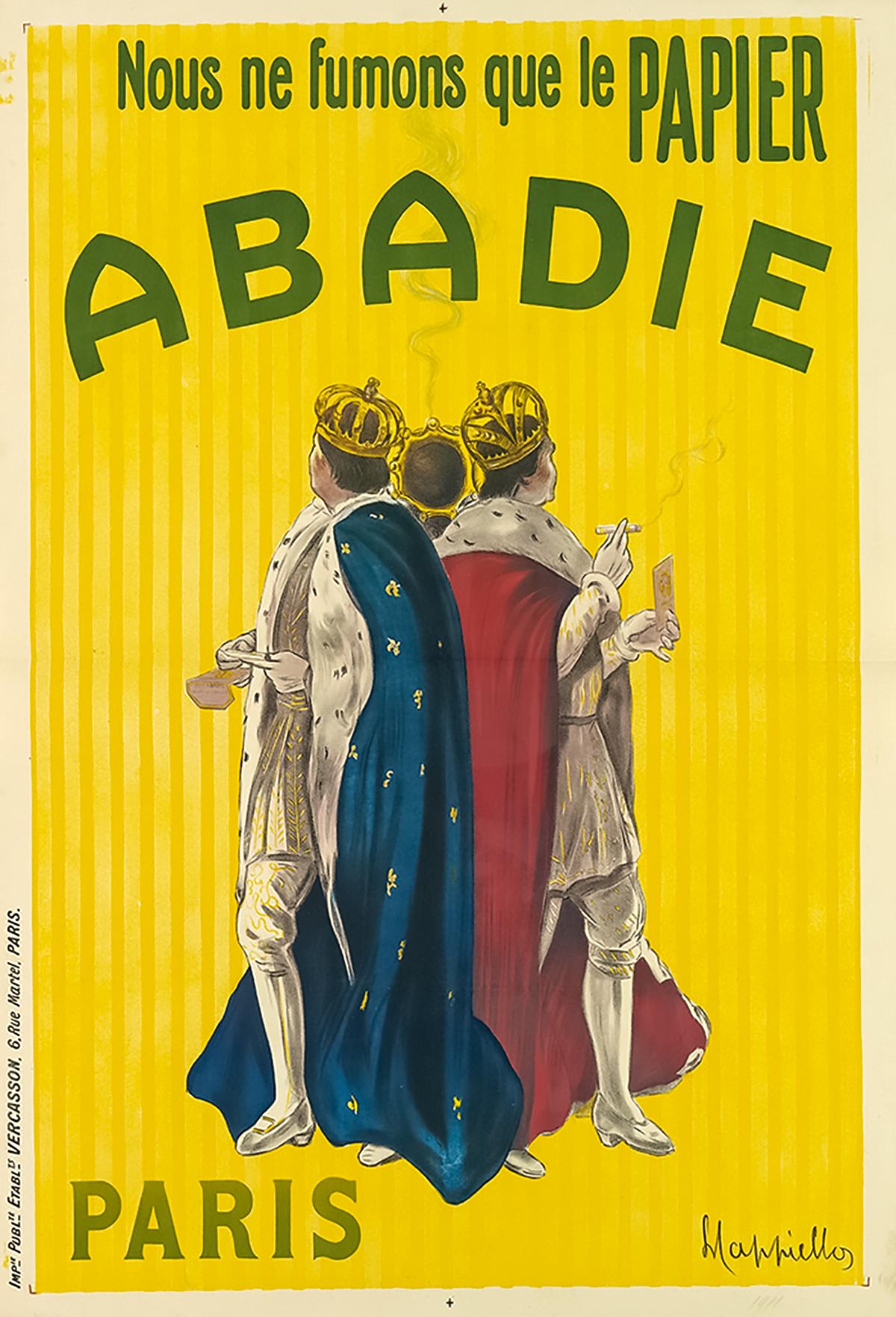 Leonetto Cappiello for Abadie 1911.