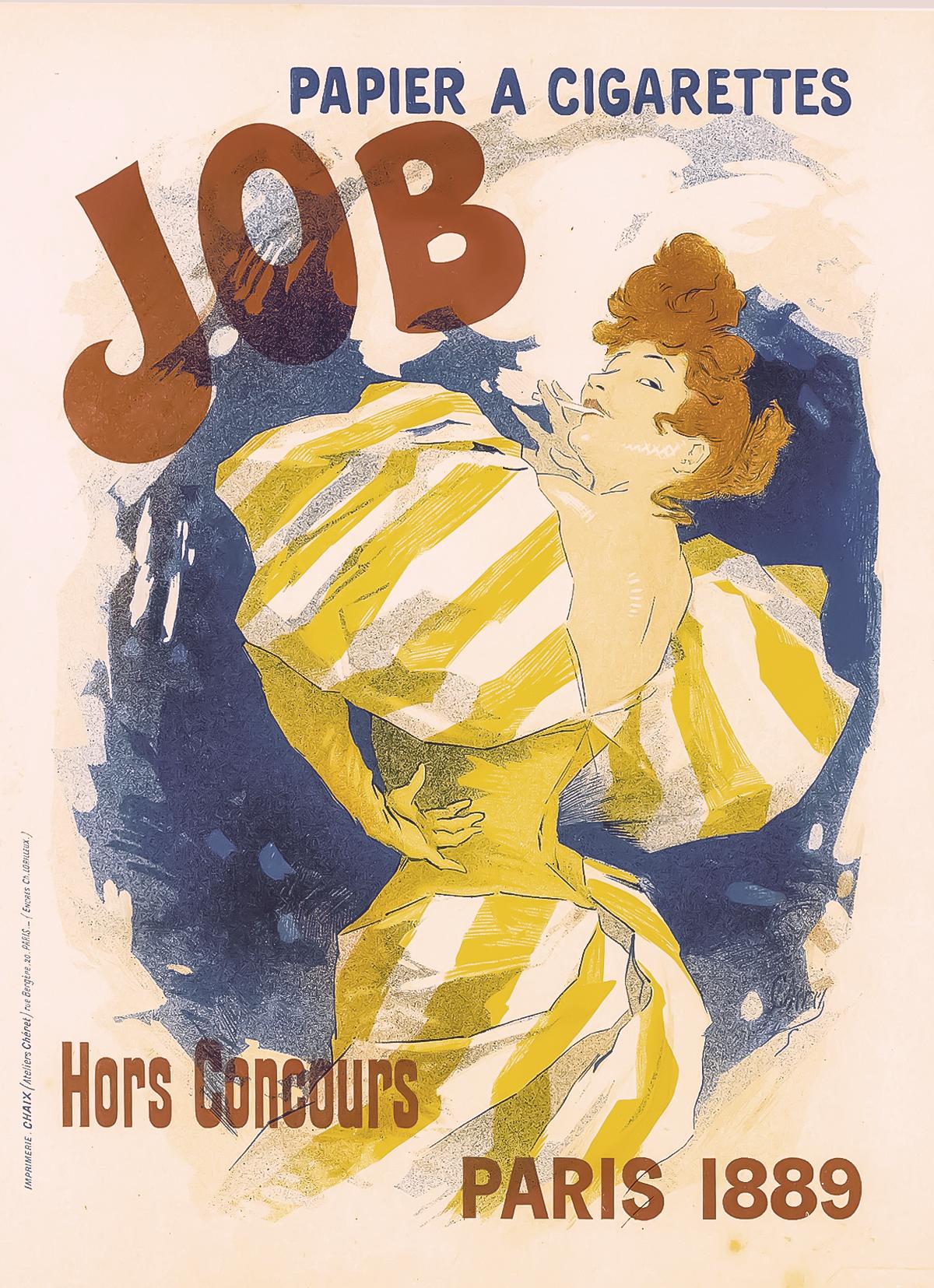 Jules Chéret for Job 1889.