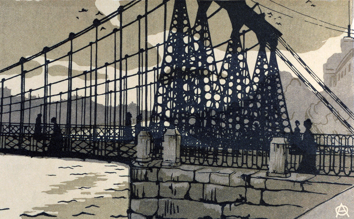 Chain Bridge 1903