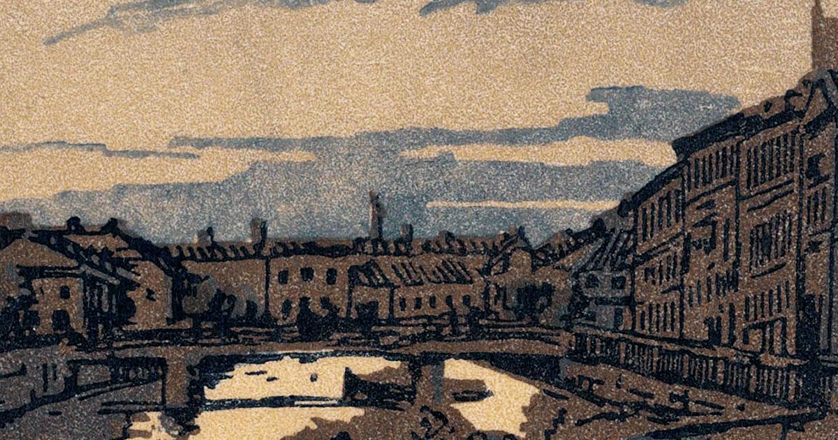Kryukov Canal 1910 Detail