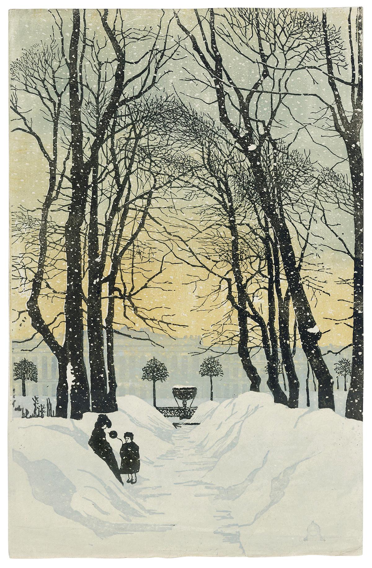 The Summer Garden in Winter 1902