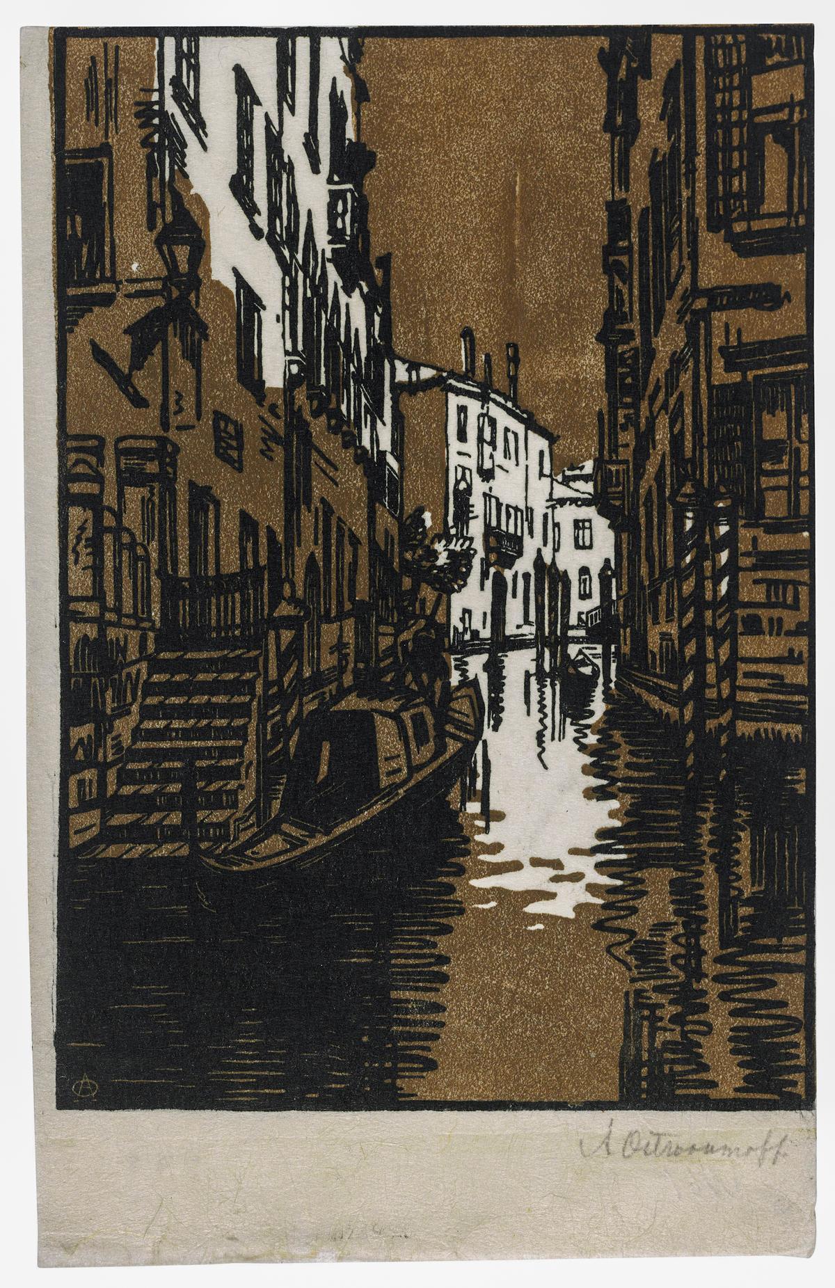 Venice at Night 1916