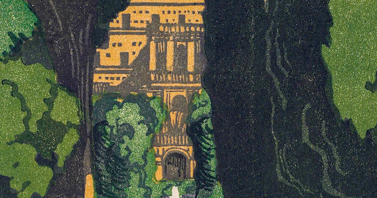 Villa d'Este 1924 Detail
