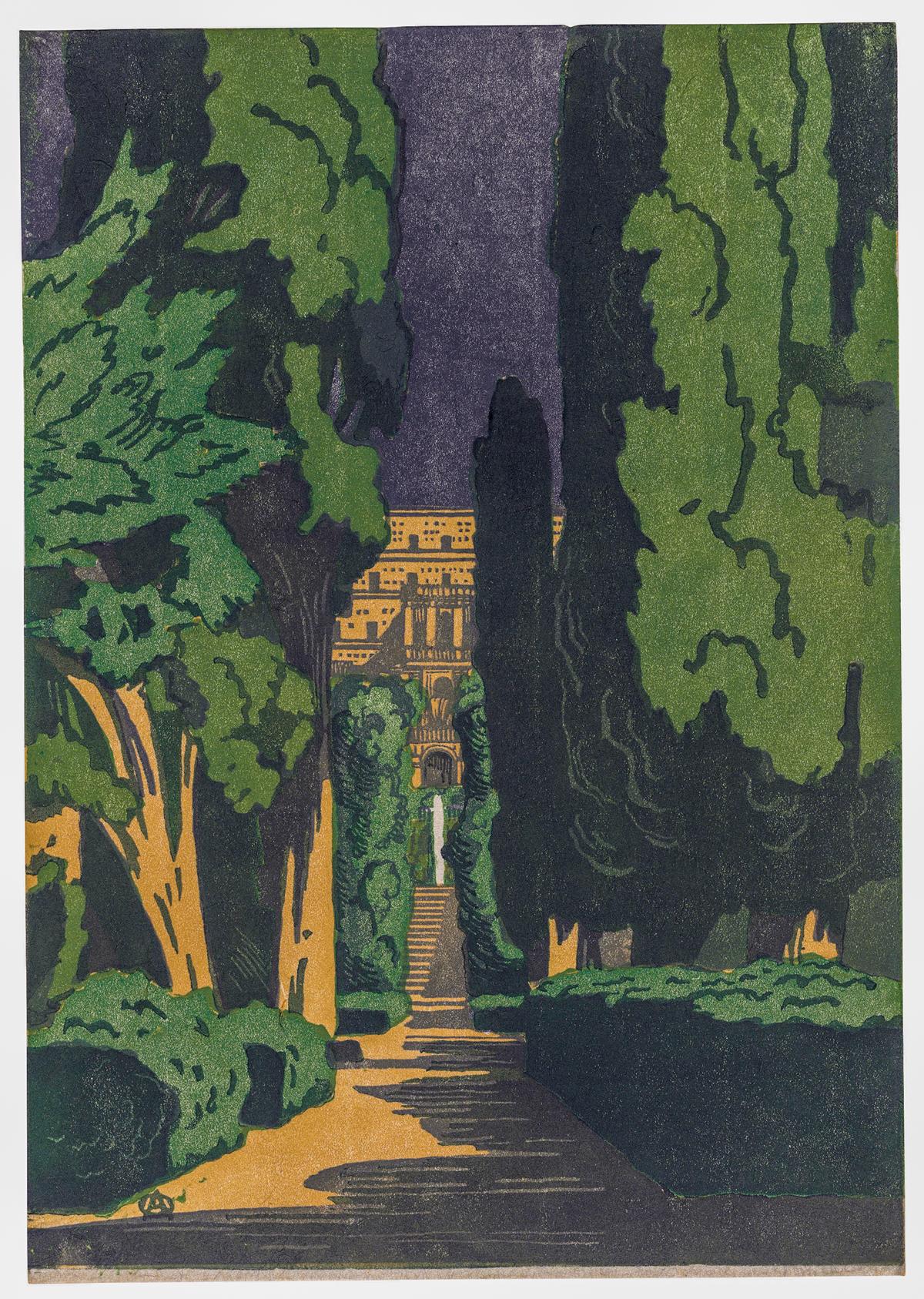 Villa d'Este 1924