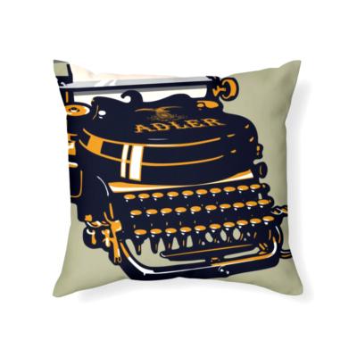writers block pillow