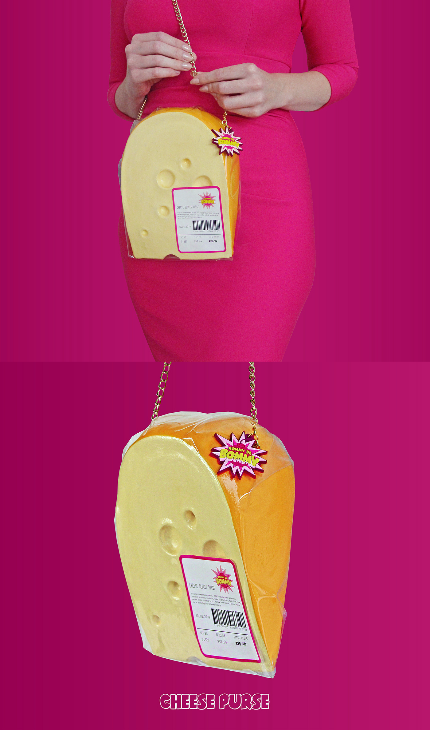 RommyDeBommy Swiss Cheese Purse