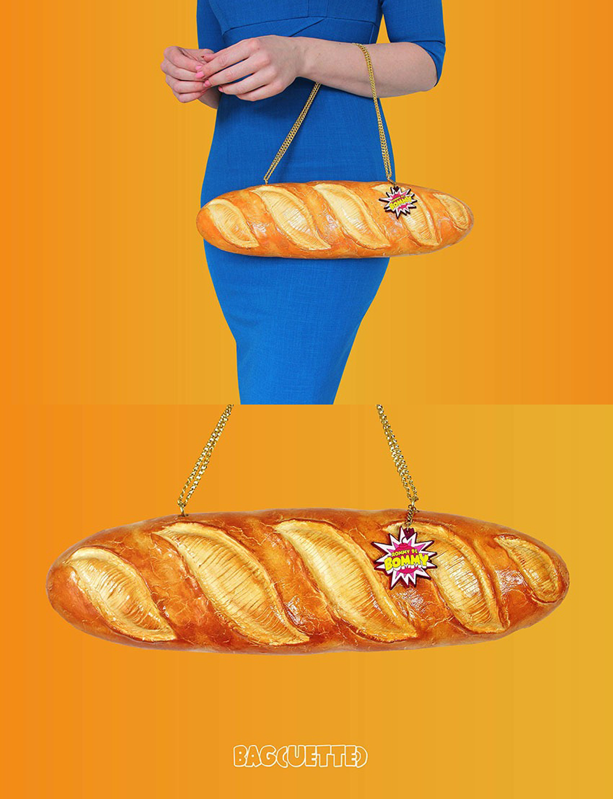 RommyDeBommy baguette purse