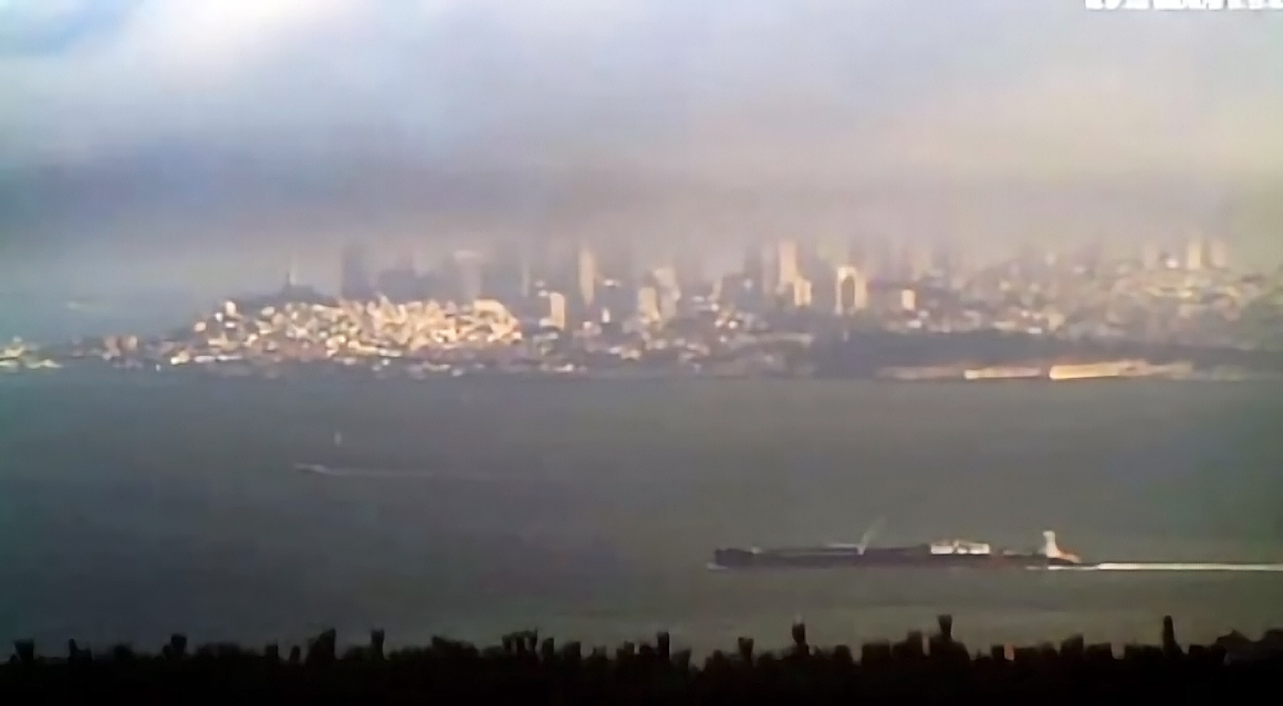 'Current' time-lapse video of San Francisco Bay