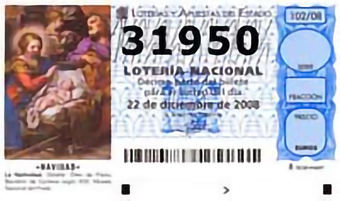The Mother of All Lotteries : El Gordo = €2.3 Billion