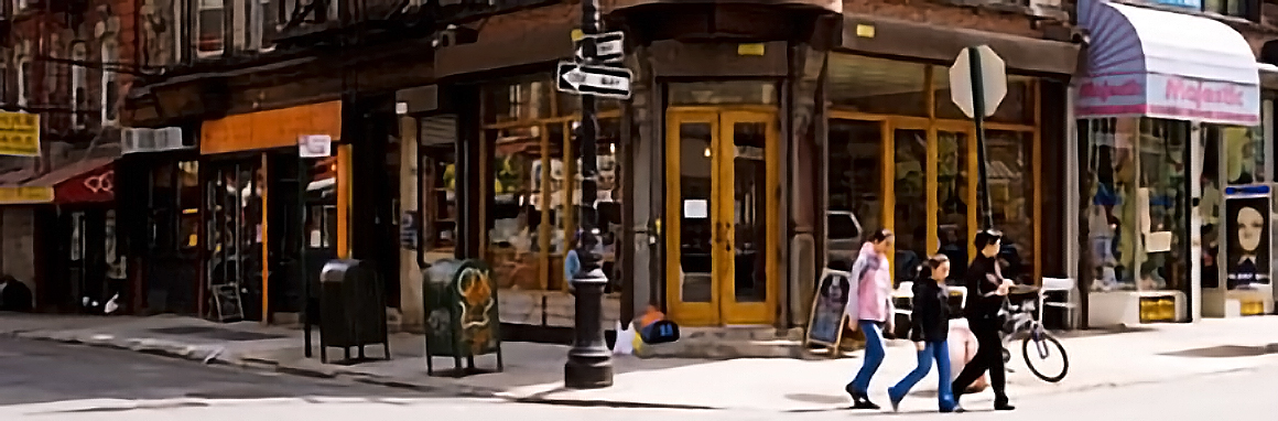 The Manhattan Street Corners
