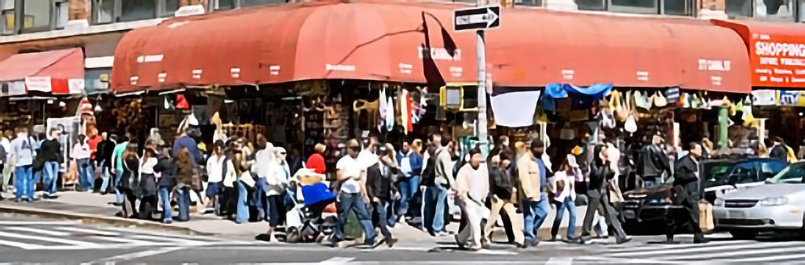 The Manhattan Street Corners — amazing photography project.