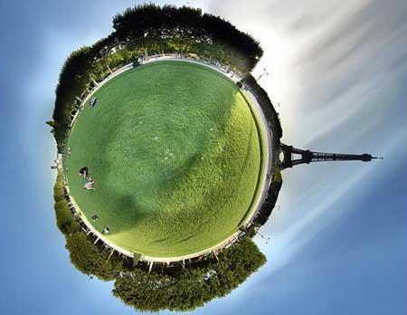 Excellent 3D panoramic photographs of Paris