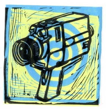 Randomly Found Art — Linocut Prints