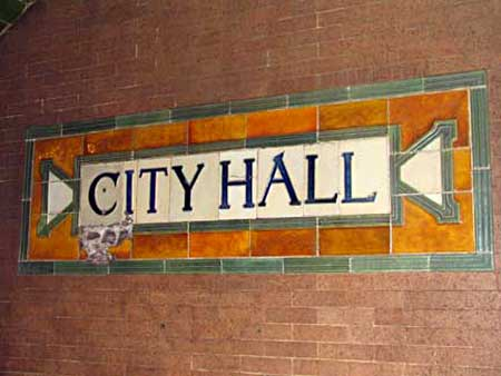 The Defunct City Hall Station