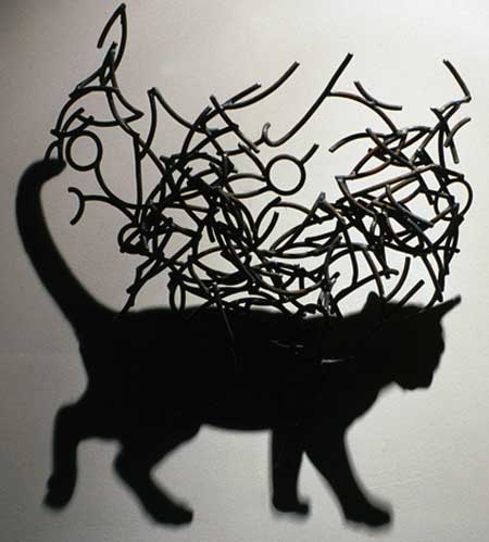 The Shadow Sculptures of Larry Kagan