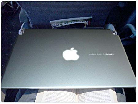 MacBook Pro in-flight ambient…