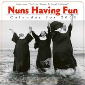 Nuns having fun …the calendars