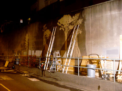 Reverse Graffiti Project — The Broadway Tunnel, San Francisco