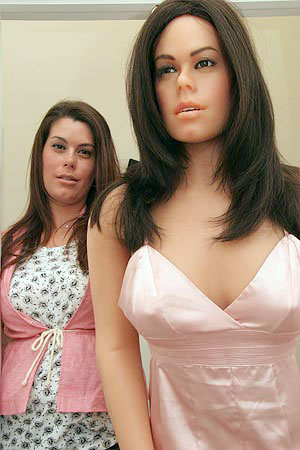 An artist's complicated relationship with her look-alike sex doll