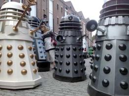 Exterminate! Exterminate! Daleks invade Manchester