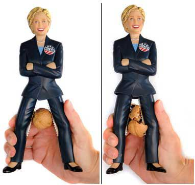 The Hillary Nutcracker — ouch!