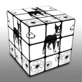 Create your own *Rubik's Cube design from any photo