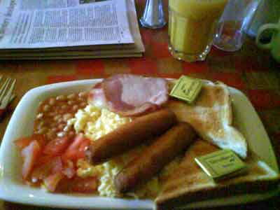 Rashers and eggs—daily breakfast review in Dublin