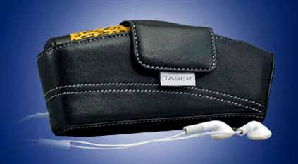 New carry case for your Taser and MP3 Player…