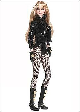 S&M Barbie lashed by public