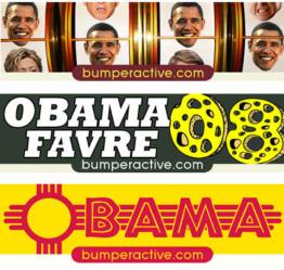 Obama Bumper Stickers by State