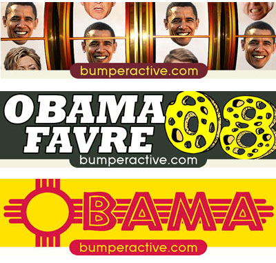 Obama Bumper Stickers by State