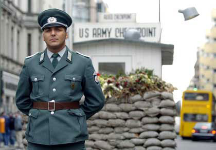 A stripper and a widow walk into a Berlin courtroom for the Checkpoint Charlie case…