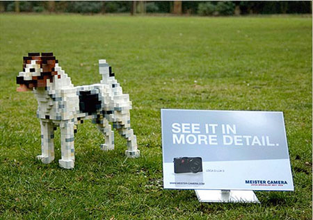 Clever Leica OOH