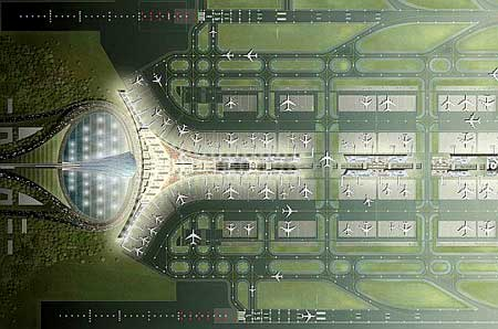 The New Beijing Airport