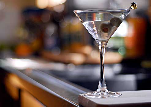 Letter to the editor : Nothing like a good martini, garter belts and high heels