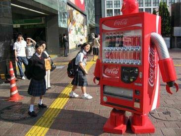 The attack of the Coca-Cola robots
