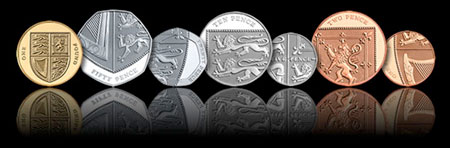 New English coin designs