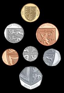New English coin designs