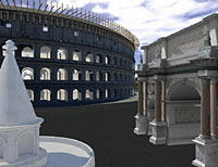 Ancient Rome rebuilt, virtually