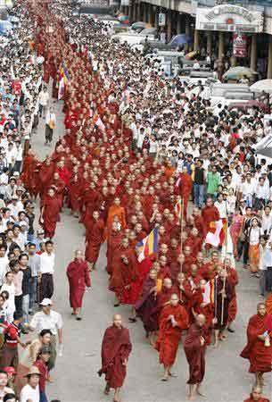 Myanmar anti-junta protests biggest in 20 years