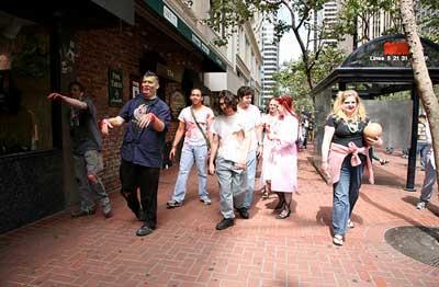 Zombie warning for San Francisco May 25th...