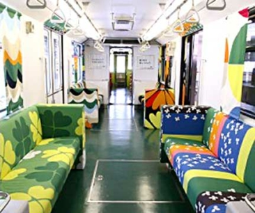IKEA decks out Kobe train