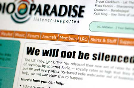 Fight For Internet Radio Heats Up — is it too late?