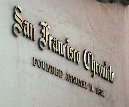 Will the San Francisco Chronicle be the first newspaper to kill print in favor of its online sfgate.com?